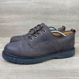Timberland Waterproof Brown Leather Oxford Shoes